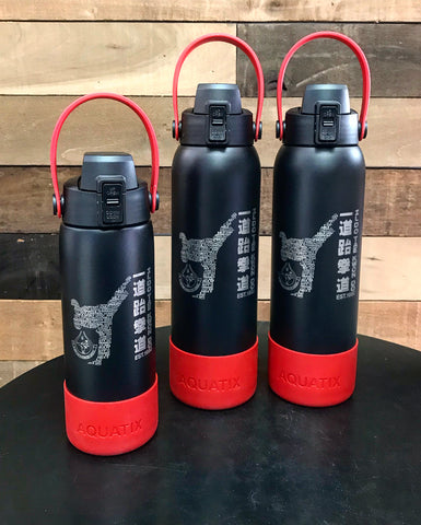 21 & 32 ounce - Ildo Tae Kwon Do Laser Engraved Sport Bottle
