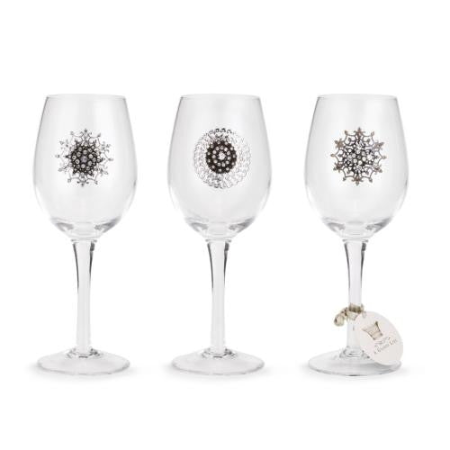 Embellished Stemmed Glasses by Demdaco