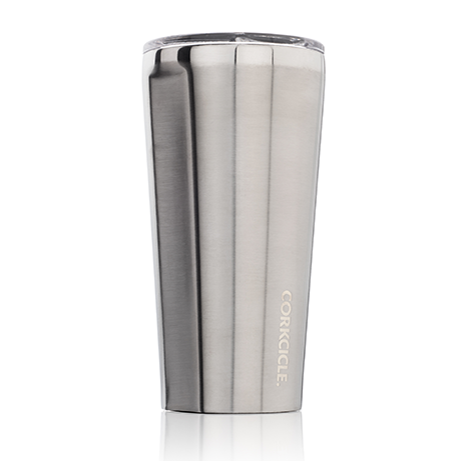 Brushed Steel Tumbler 16 oz. by Corkcicle