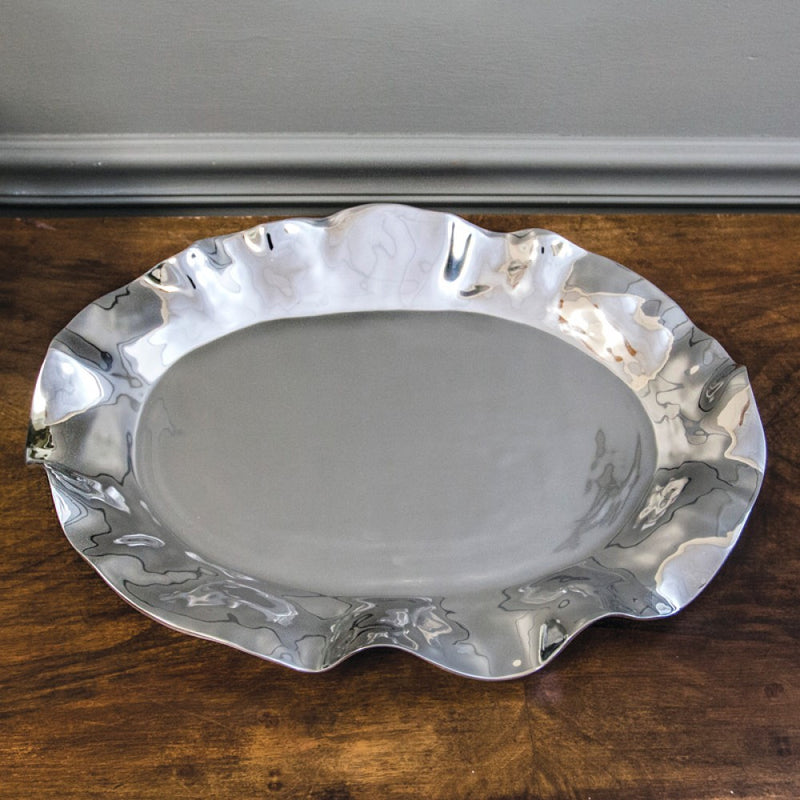 Vento Olanes Large Oval Platter by Beatriz Ball
