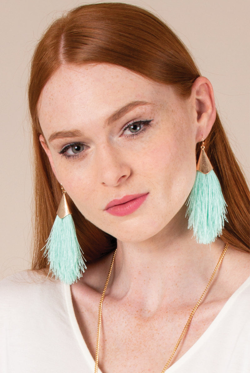 Feather in Your Cap Earrings From Simply Noelle