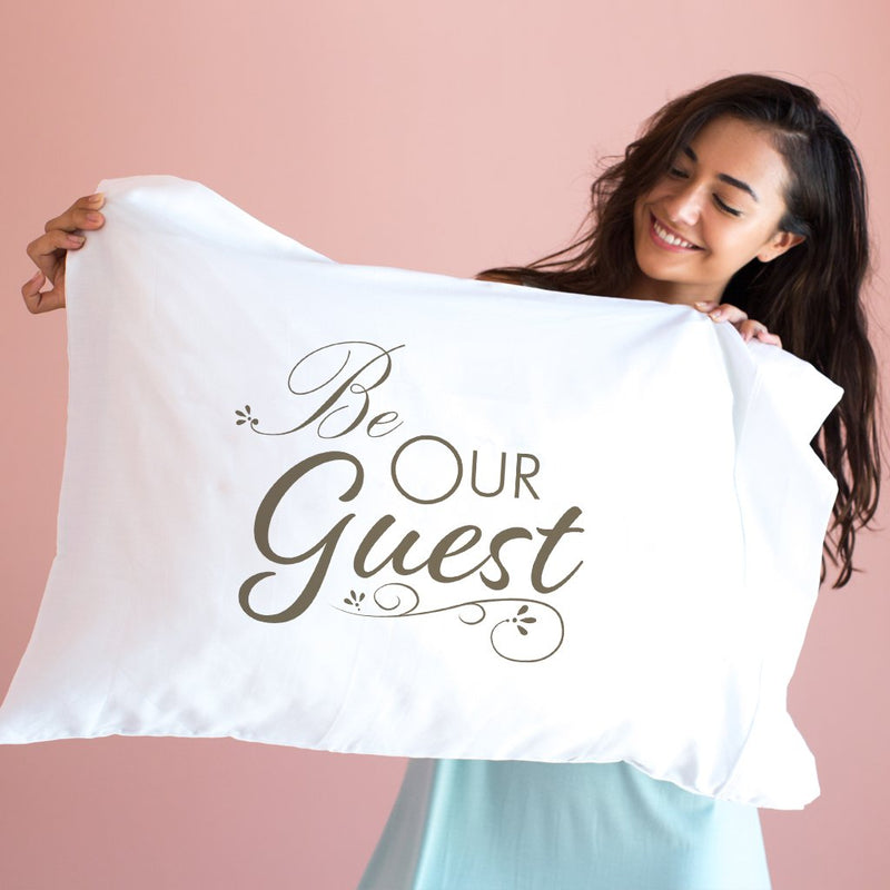Be Our Guest  Single Pillowcase By Faceplant
