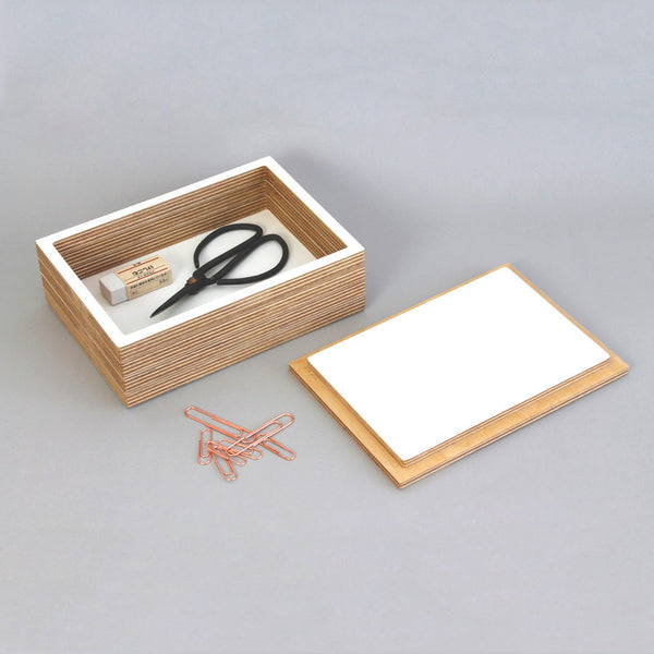 Storage box with lid - 30% off