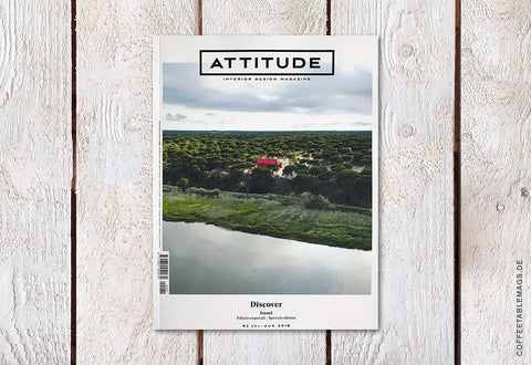 Attitude Magazine – Number 82: Discover (Israel, Special Edition) – Cover