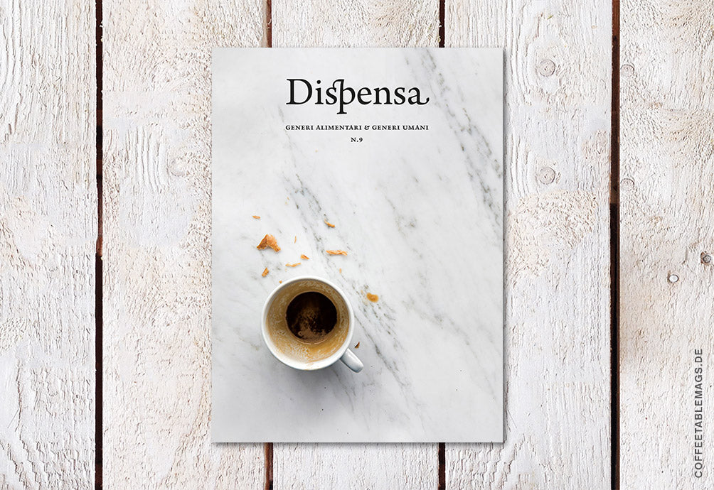 Dispensa Magazine – Issue 09 – Cover