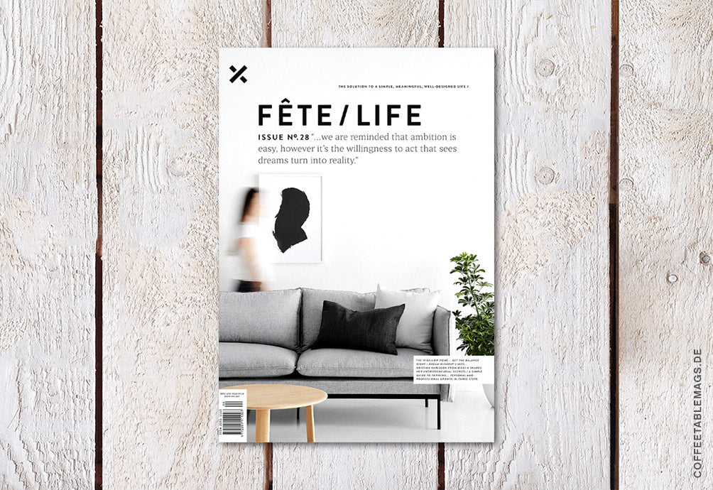 Coffee Table Mags // Independent Magazines // Fête/Life – Issue No. 28 – Cover