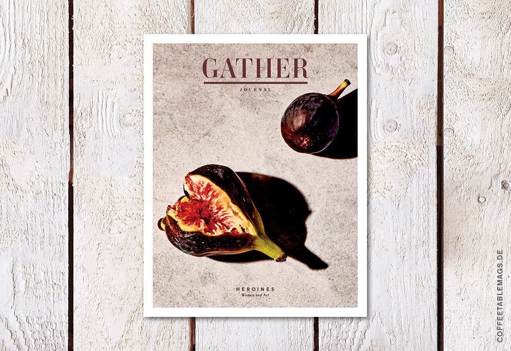 Coffee Table Mags / Independent Magazines / Gather Journal – Issue 11: The Women and Art Issue – Cover