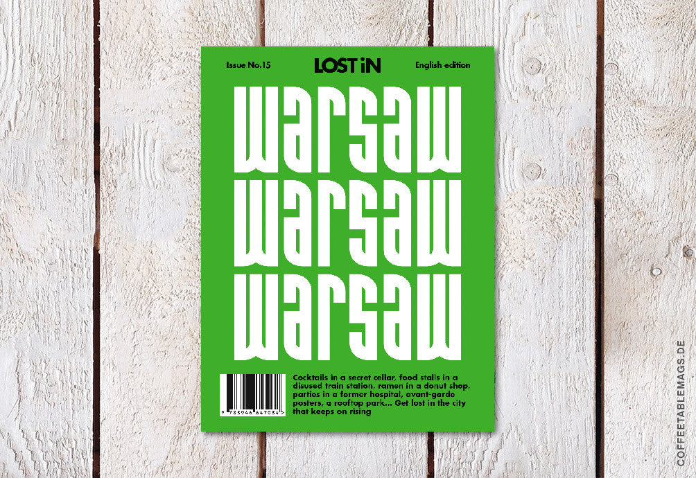 LOST iN City Guide – Issue 15: Warsaw – Cover