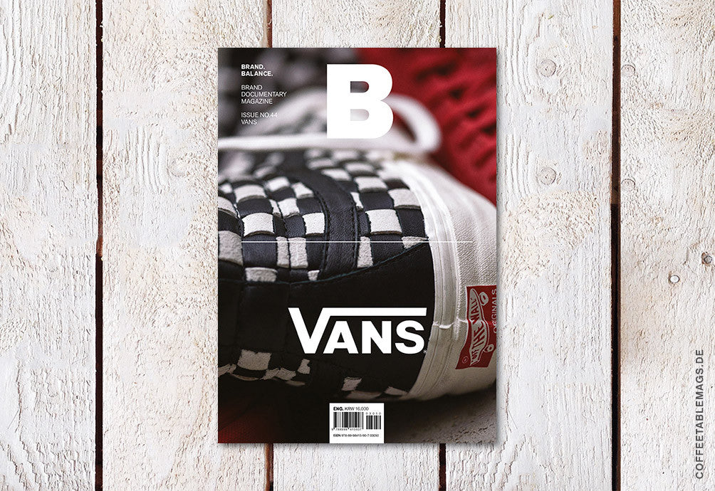 Magazine B – Issue 44 (Vans) – Cover