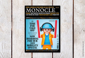 Coffee Table Mags / Independent Magazines / Monocle – Issue 124: Mobility Special – Cover