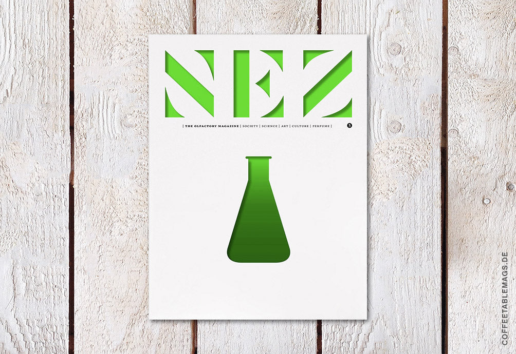 NEZ, The Olfactory Magazine – Number 05 – Cover