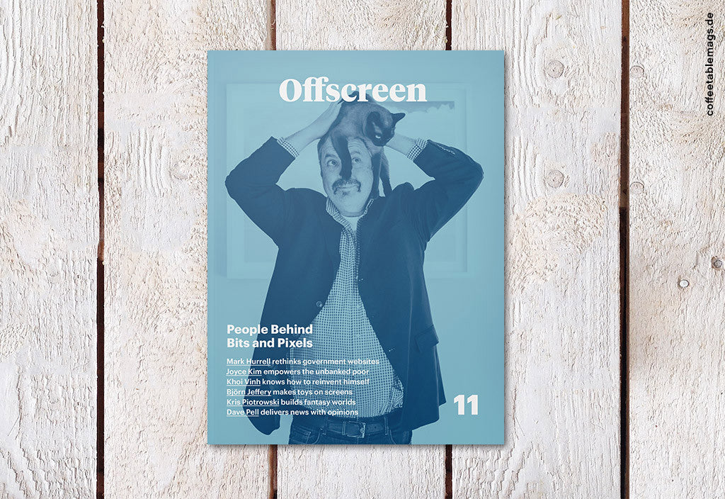 Offscreen Magazine – Issue 11 – Cover