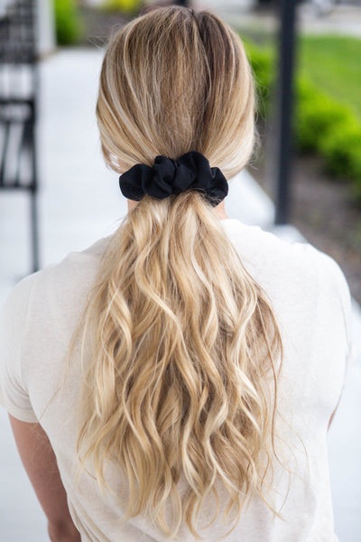 Belle-Black Scrunchie