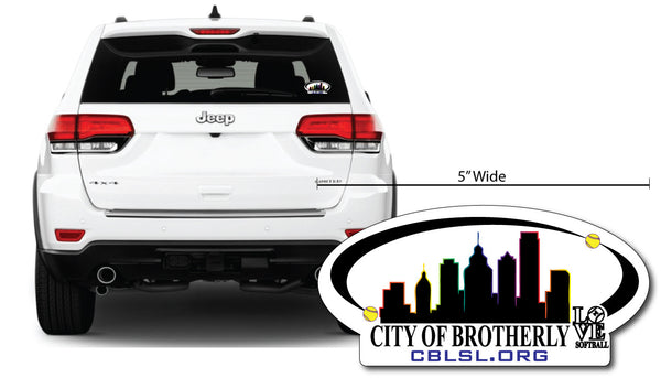 "CBLSL 5"" Car Decal"