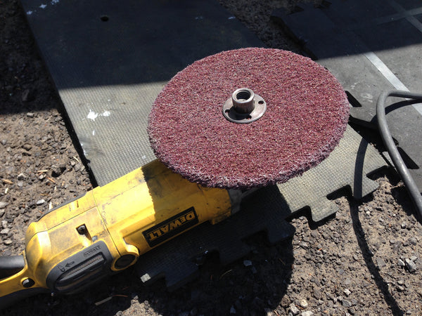 High strength buffing discs