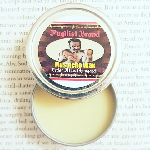 Mustache Wax - Cedar Atlas Shrugged