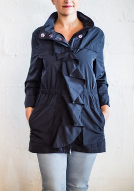 Navy Gloria Jacket, Clothing, Ciao Milano, Laura of Pembroke