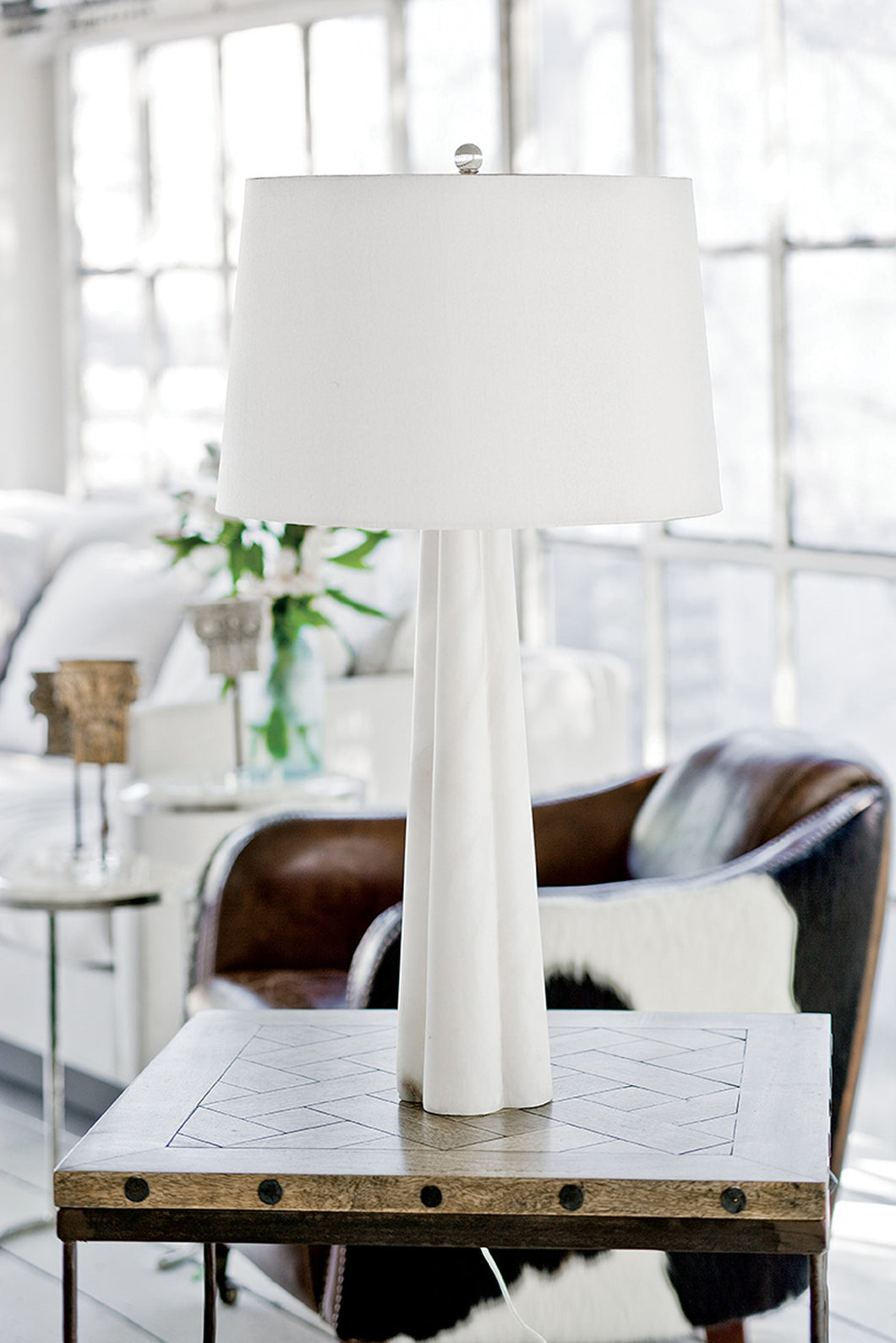 Large Quartrefoil Lamp, Home Accessories, Laura of Pembroke