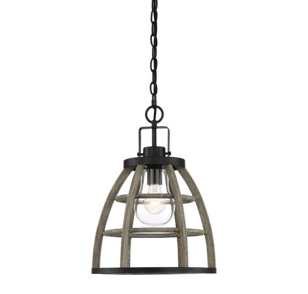 Luisa 1 Light Outdoor Pendant