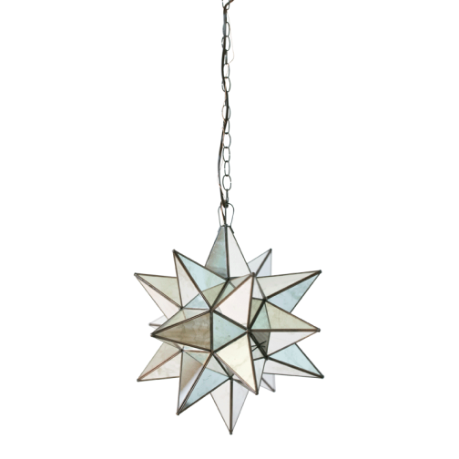 Mirrored Star Pendant, Lighting, Laura of Pembroke