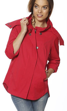 Savina Red Jacket, Clothing, Ciao Milano, Laura of Pembroke