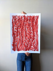 Red Vines Print by Brainstorm