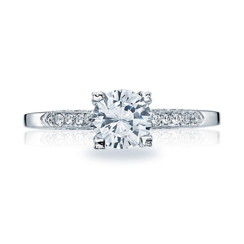 Tacori Platinum Diamond Engagement Ring 2586RD65