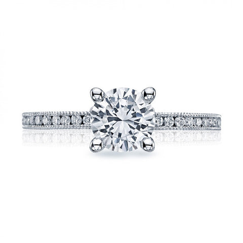 Tacori 1/2 Way Round Channel Engagement Ring 44-15RD65W