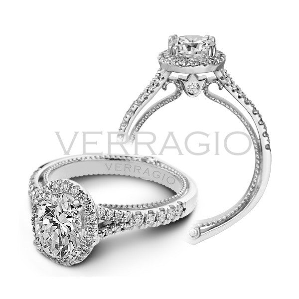 Verragio Oval Diamond Engagement Ring COUTURE-00424OV