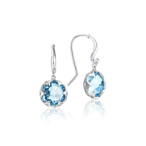 Tacori Crescent Drop Earrings featuring Sky Blue Topaz SE21102
