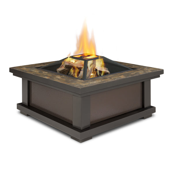 Real Flame 910 Alderwood Fire Pit Sunset Fire Pits