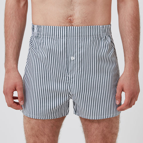 Boxer Short - Olive Stripe