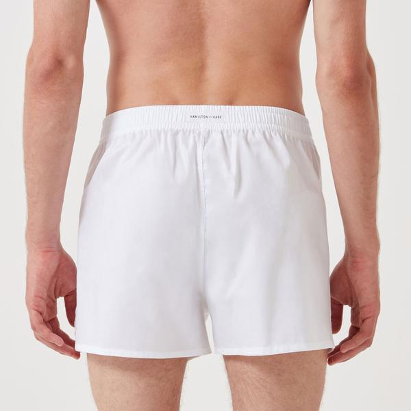 Working Week Boxer 5 Pack - Classic White