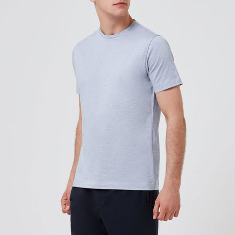 Tubular Crew Neck Tee Navy