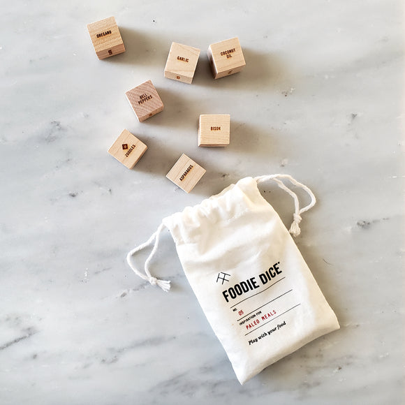 Paleo Meals Dice - Paleo cooking gift