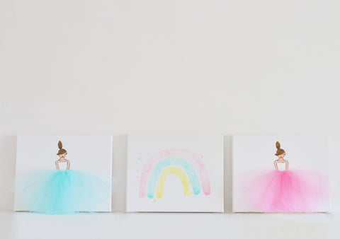 Rainbow Wall Art Set