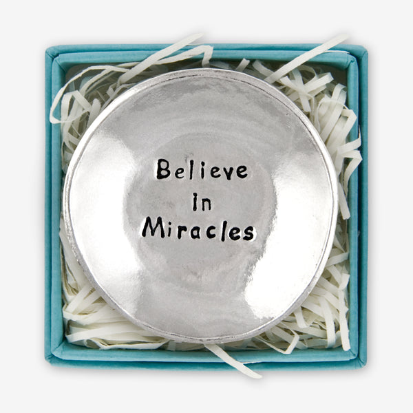 Basic Spirit: Charm Bowls: Believe in Miracles