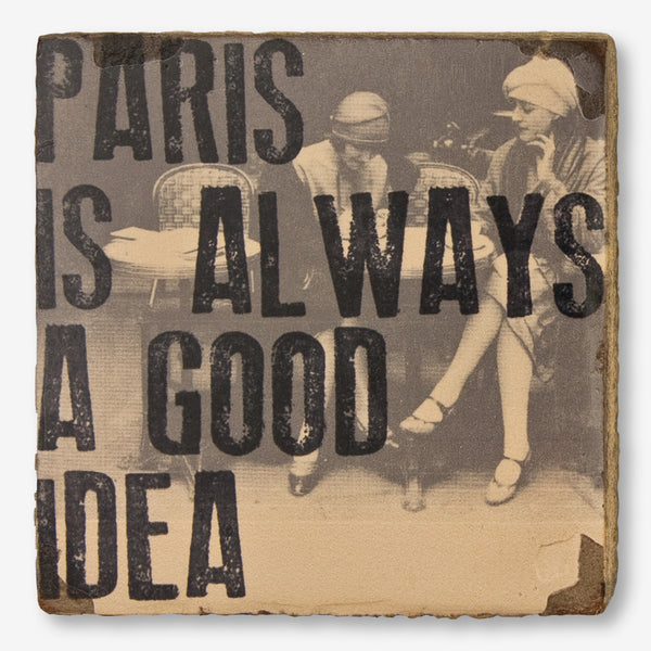 Cedar Mountain Studios: Lost + Found Art Block: Paris Is Always