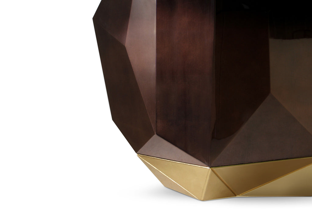 Diamond Chocolate Sideboard