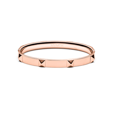 Stud Bangle Rose Gold