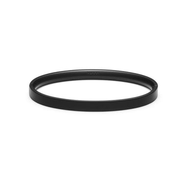 Ellipse Bangle Matte Black