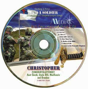 I'm A Soldier {for Christ} - MyMusicCD.com