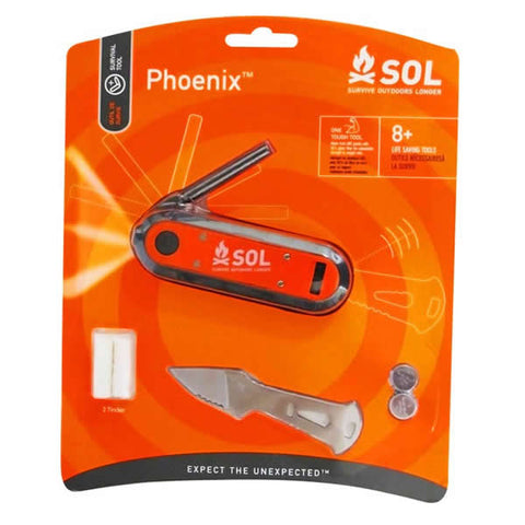 AMK SOL Phoenix 8+ Survival Tool in packet