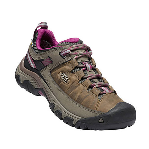Keen Targhee III Womens Waterproof Hiking Shoe weiss boysenberry Side View