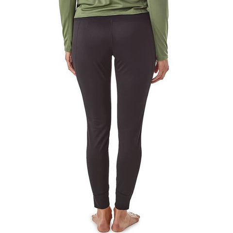 Patagonia Women's Capilene Midweight Bottoms front view in use