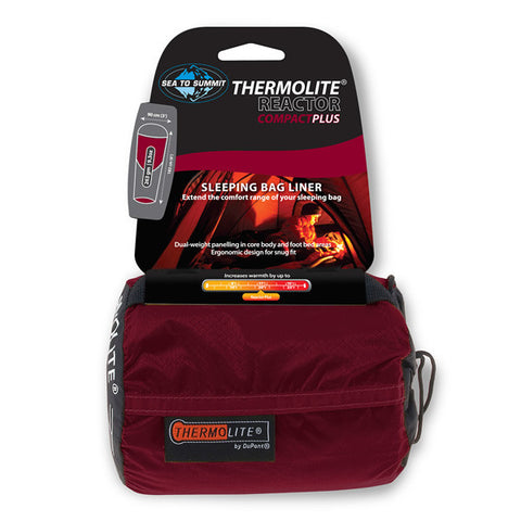 Sea to Summit Thermolite Reactor Compact Plus Sleeping Bag Liner - Seven Horizons