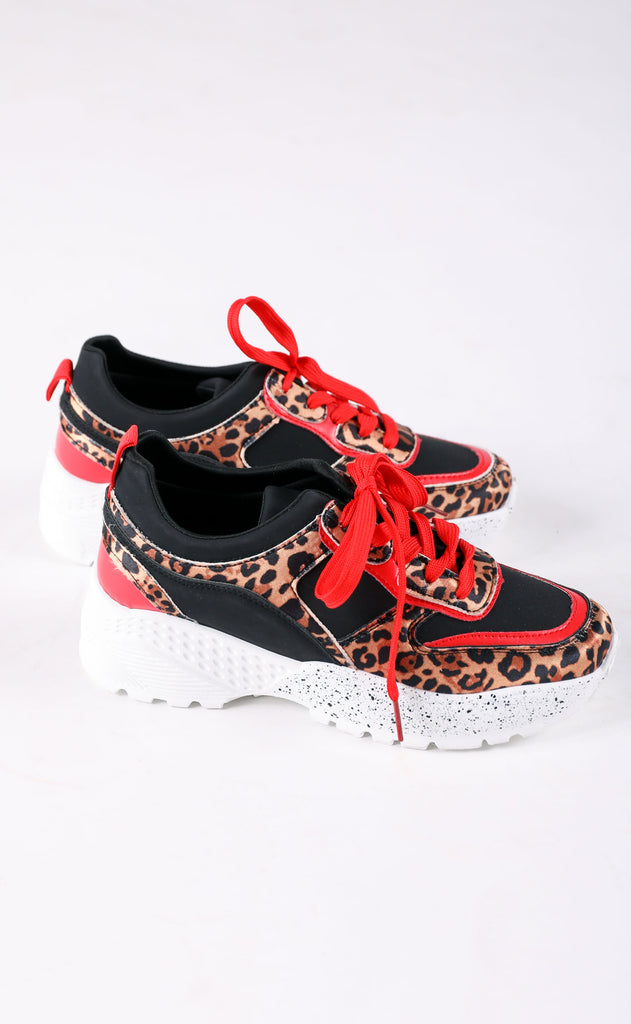 mix it up sneaker - red