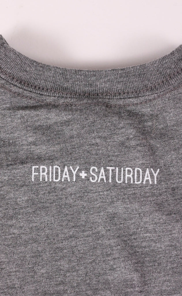 friday + saturday: mini toddler t shirt