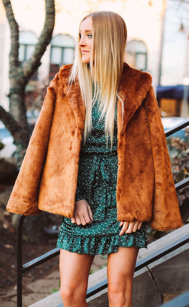 amuse society: fur ever mine jacket