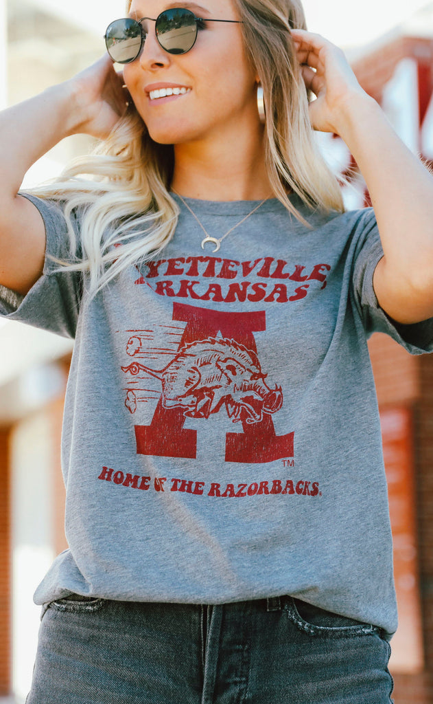 charlie southern: arkansas poster home of the razorbacks t shirt